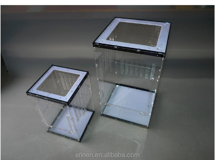 Excellent Design Perspex Reptile Cages Terrarium Custom