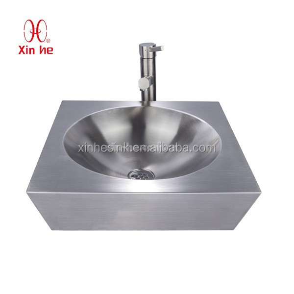 Stainless Steel Hand Basin, Industrial Commercial Stainless Steel Hand Wash Basin