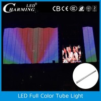 colorful wall mount tube outdoor IP65 light