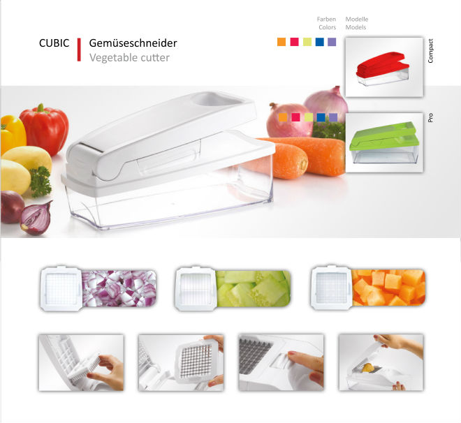 Cubic - vegetable cutter / multi purpose chopper