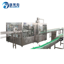 Automatic carbonated beverage soft drink soda water Gas liquid filling machine / production line