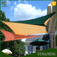 balcony sun shades/balcony cover/hdpe shade sail