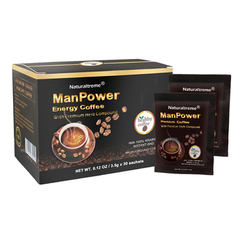 Health Benefits Herbal Power Coffee for Men Body Enhancer