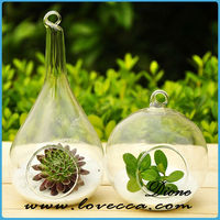 pear and round glass vases glass vase with hole