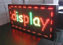 outdoor full color led sign Leeman P2 massage message board