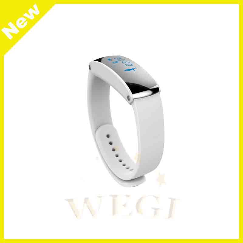"WH06 Bluetooth Smart Watch Wrist Smart Watch with 0.91"" OLED Display Smart Bracelet"