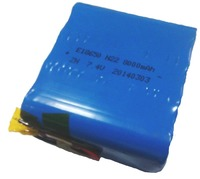 rechargeable 7.4v lithium ion battery pack