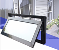 North America Style HB70 series Aluminum Awning window comply with CE certificate from China factory