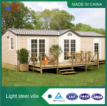 Luxury Steel Russian Prefabricated Wooden House