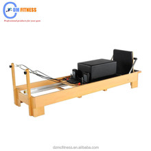 Professional Pilates Reformer equipment for Club/A+ German Beech And Stainless Steel