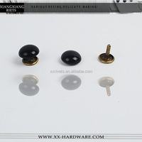 2014 fashion decoration double mushroom rivet for shoes and bags