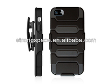 holster hybrid hot sell new style case for iphone5/5s