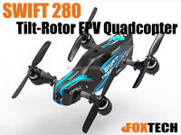 2016 New Upgrade Product mini racing drone Swift TR280 rc plane ARF combo with GPS