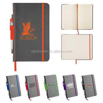 zippered a4 leather portfolio folders/custom men portfolio/leather portfolio with calculator