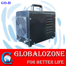 Compact ozone generator air cleaner to remove bad smell in pet room