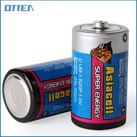 1.5v dry cell zinc mangnaese r20 d battery