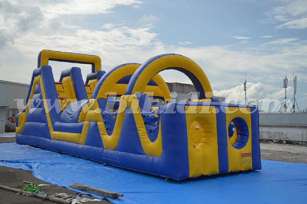 2016 giant inflatable obstacle, adult inflatable obstacle course, obstacle race inflatable game B5003