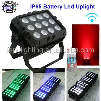 RGBWA+UV 6in1 Professional Event Lighting Rental Battery Operated Par Light Outdoor Used Dance Floor Light