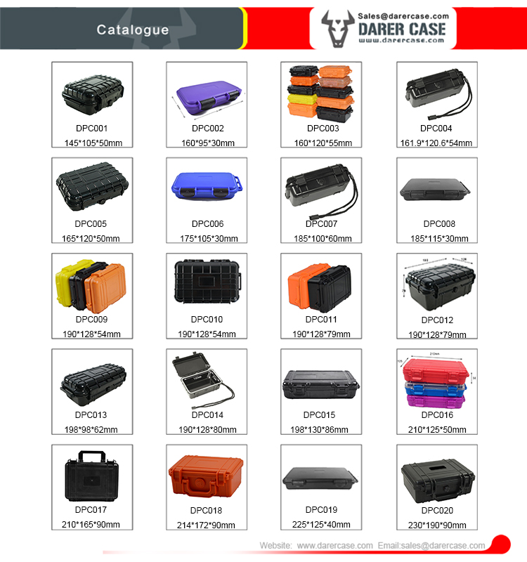 DPC003 Popular Temperature ABS PP small hard case