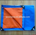 orange navy blue pe tarpaulin for Saudi Arabia
