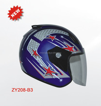 MOTORCYCLE HALF FACE HELMET,MOTORCYCLE HELMET,HIGH STRENGTH ABS HALF FACE HELMET,DOT CERTIFICATE SINGLE VISOR HELMET,HELMETS