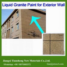 marble effect spray powder coating Flakes paint