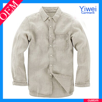 Cotton linen knitted fabric Wholesale for shirt men