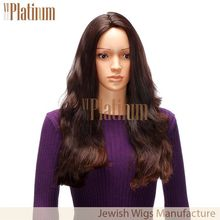 New Arrival Wavy Style Brush Back Real Human Hair Wig