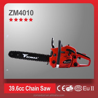 power tools 1.5kW 39.6cc ZM4010 cordless chainsaw with CDI ignition