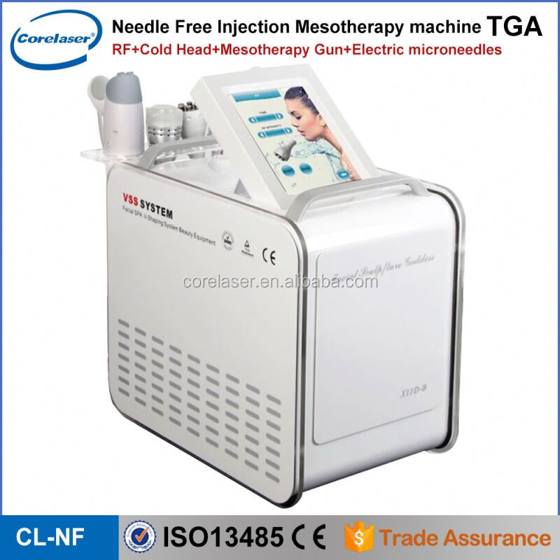 Meso skin rejuvenation mesotherapy injection gun korea / portable needle free mesotherapy gun for sale