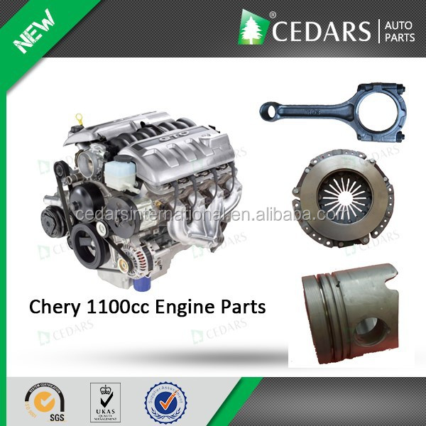 Original Chery parts Chery 1100cc engine with 12 months warranty