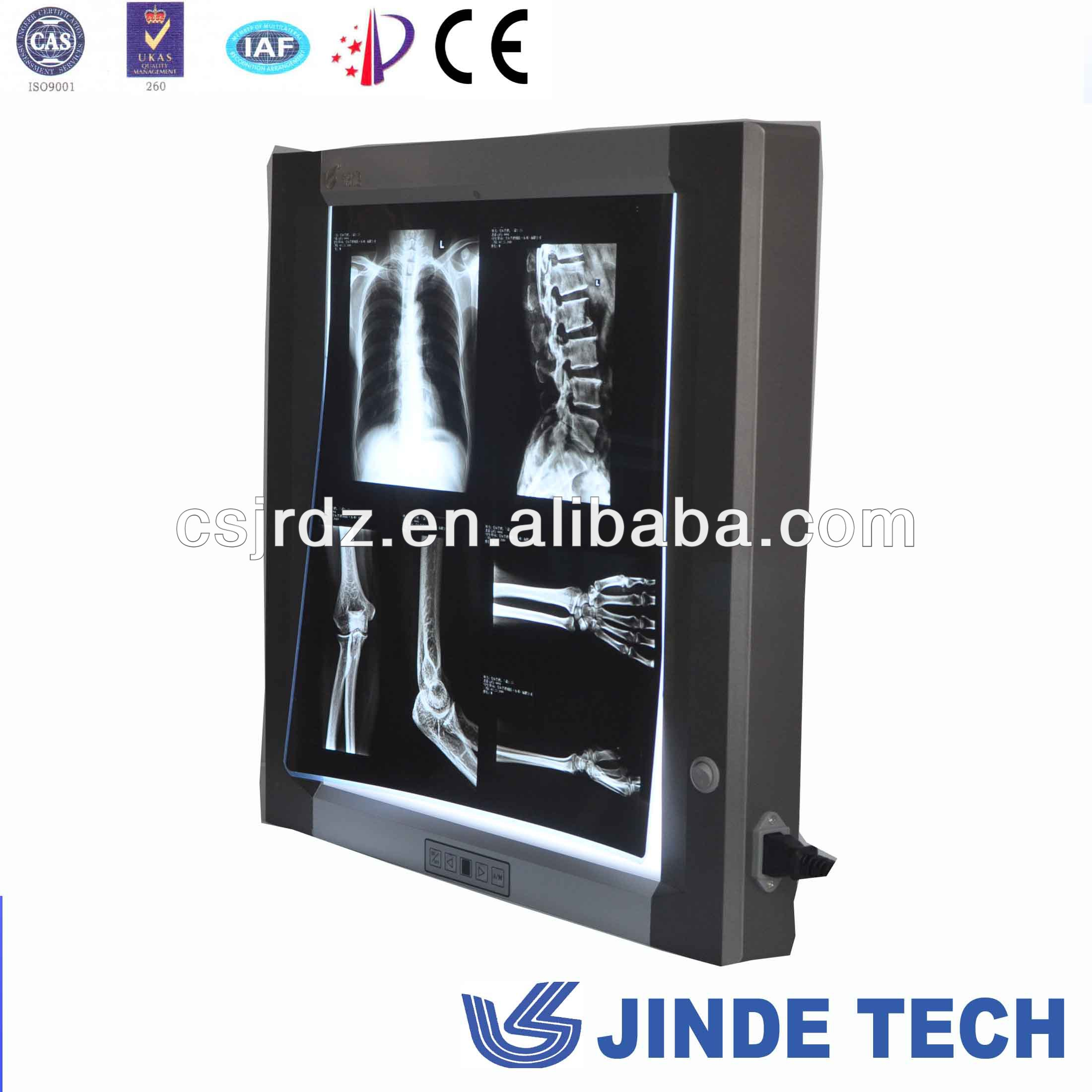 thin LED x-ray film viewer for one panel