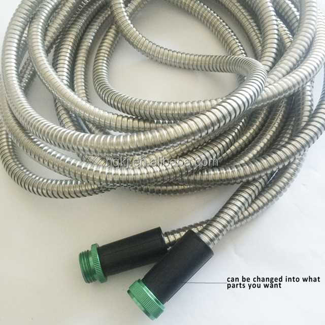 china manufacturer Stainless Steel Garden Hose bathtub faucet hose