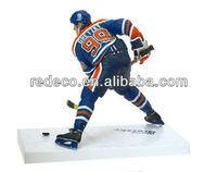Hockey puck sports figures statues