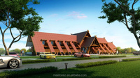 2015 hotest Prefabricated wood house brazil log home factory direct sales