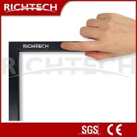 Richtech touch lcd monitor / IR multi touch panel LCD/ touch screen frame