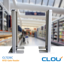 Long range reading UHF rfid library gate for access control system