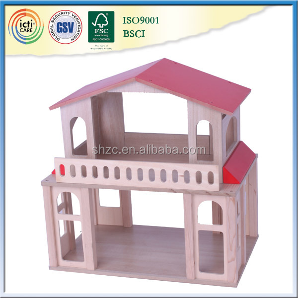 Your play new chioce wooden house,best toys for 2016 christmas gift