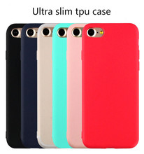 Ultra Slim Colorful TPU Case for iPhone 7 plus,for iPhone 7 Ultra Thin Rubber Silicone Plastic case