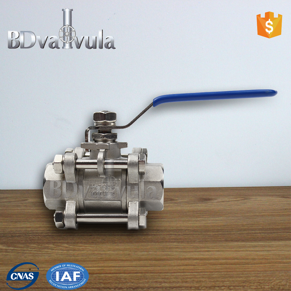 female screwed ball valve PN16 float ball valve manufacture