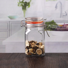 High quality heritage hill glass jar 6 oz