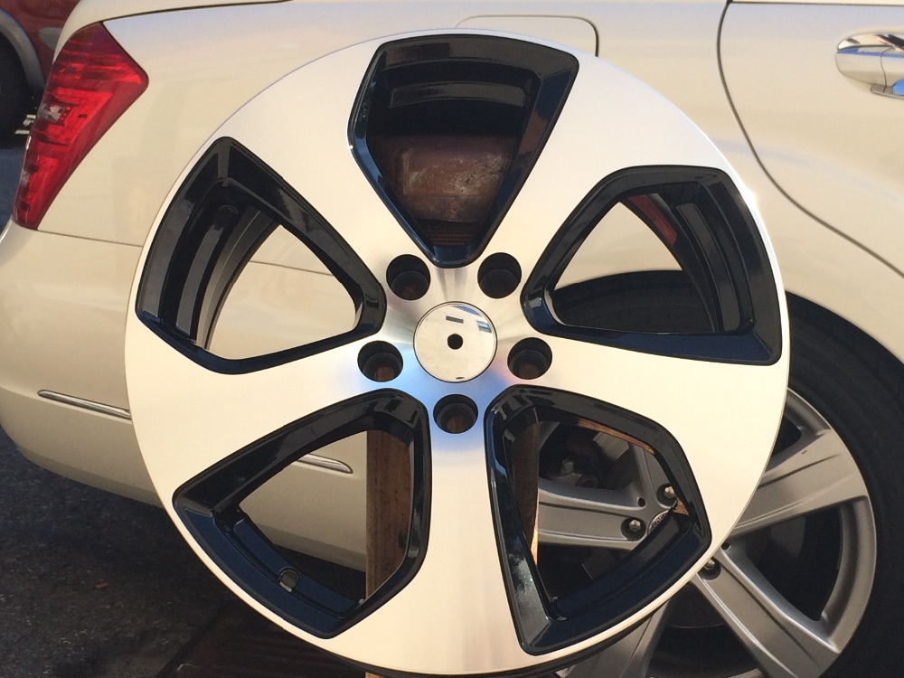 IPW W602 17 Inch Aluminum Alloy Wheel Rims for VW