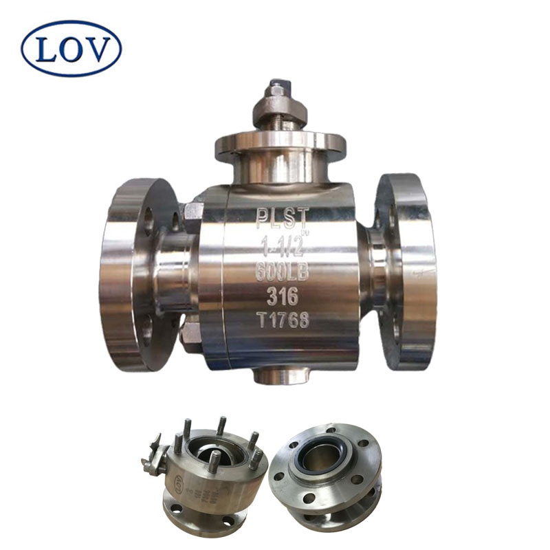 Quality Stainless Steel Trunnion Mounted API Ball valve Fire Proof Design and Fast Shipping