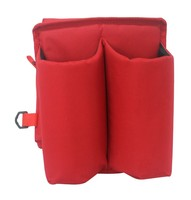 600D polyester saddle bag