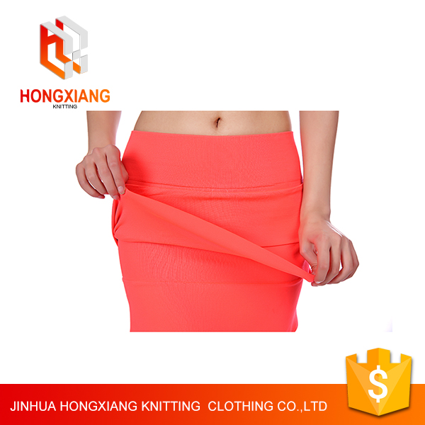 Hongxiang Fashion Slim Sexy package hip skirt for Ladies