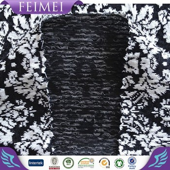 100%Polyester Yarn Dyed Jacquard Knitting fabric For women's wear