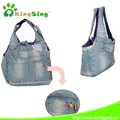 Popular in Japan Jeans sling pet bag