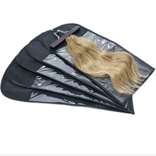 Custom made pvc hair packaging bag with Higih Quality