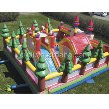 inflatable play center,kids outdoor play center,outdoor activity center