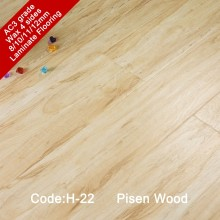 Laminate flooring sheets